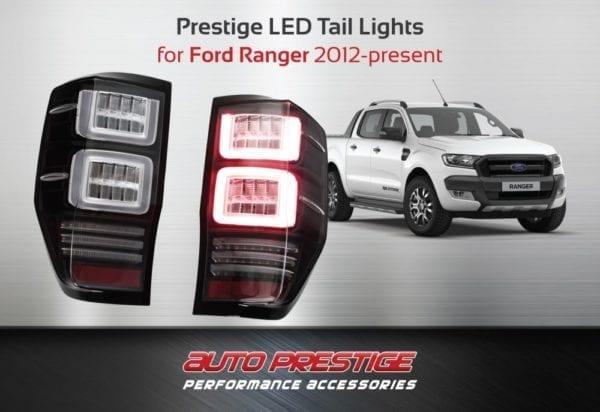 ford ranger led tail lights prestige