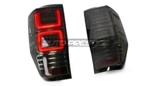 ford ranger led tail lights smoked